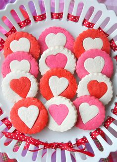 Two-Tone Heart Cookies How-To