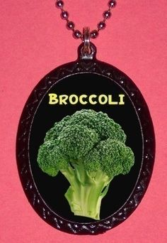 Broccoli Necklace | 34 Unbelievably Awesome Works Of Art For Sale On Etsy
