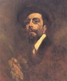 Auto-retrato - Columbano Bordalo Pinheiro