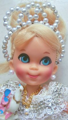 LIDDLE KIDDLE STORY BOOK RARE SIDE PART CINDERELLA!!  A BEAUTY! #MATTEL