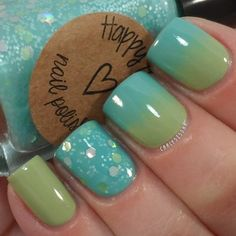 Happy Hands Polish- Springs, Chinaglaze- For Audrey and Essie- Navigate Her