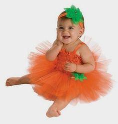 Rubie's Costume Newborn Pumpkin Tutu Dress, Orange - Amazon http://amzn.to/2bo9gxI