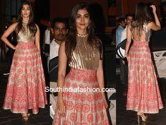 2c214bc7961cc6 Pooja Hegde in Manish Malhotra · Latest Designer SareesManish MalhotraSouth  IndiaIndia FashionEidSalwar SuitsSequin SkirtIndian ...