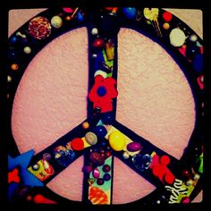 Love this peace sign!