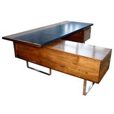 A wonderful modernist executive desk by Robin Day.English Design