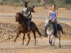 Inspirez vous! Le Sénégal autrement #AventureSineSaloum #cheval