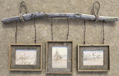Recycled Metal Projects - picture frame made with old barbwire