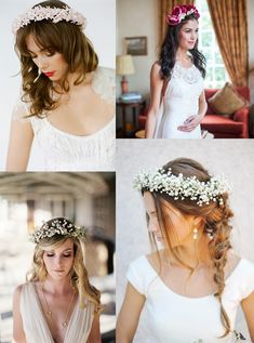Crown, Bright, Hair Styles, Wedding, Clay, Fashion, Mariage, Clays, Moda