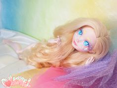 Cupcake awaiting her outfit. Ever After High custom Apple White by Dollightful