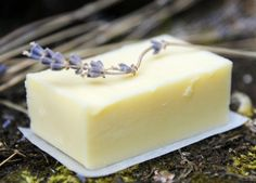 Lavender Soap. All natural, handmade with olive oil and lavender essential oil. ( photo only)