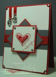 Priceless Valentine using Stampin Up Priceless stamp set