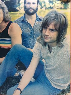 Mike Pinder, Justin Hayward, Nights In White Satin, Fluffy Hair, Moody Blues, Gorgeous Guys, Blue Band, Pink Floyd, Back In The Day