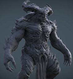 ArtStation - Demon Beast WIP, Preston Law