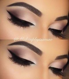 Feline Liner + Matte & Brown & Beige Eyeshadow Source