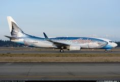 Boeing 737-890 Alaska Airlines - fish livery