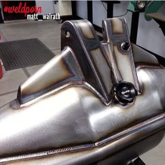 """""""Everyday I'm just constantly blown away by the talent on IG!! It's such a melting pot of great welders and fabricators, the reason I love Instagram is you…"""""""
