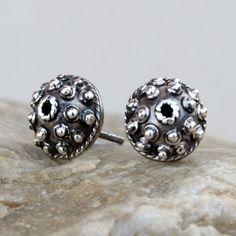 Unique earrings  A367 - silver earrings,Silver earrings, romantic earrings, gift, stud earrings, handmade, silver sticks by Artseko on Etsy