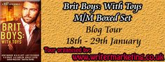 An Interview with the Brit Boys: With Toys Authors #mm #gay #erotica #romance
