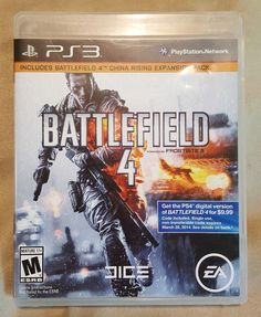 Battlefield 4, (PS3) Video Game #ElectronicArts