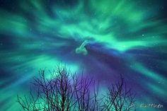 northern lights march 2015. phallic in the sky!