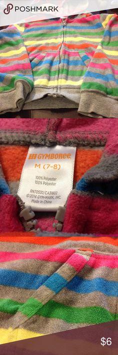 Gymboree hooded jacket with pockets size 7-8 Gymboree hooded jacket with pockets size 7-8 Gymboree Jackets & Coats
