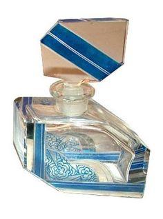 Art Decó perfume bottle.