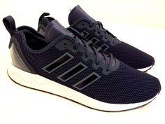 Sports Trainers, Mens Trainers, Adidas Originals Zx Flux, Black Suede, New Fashion, Running, Ebay, Racing, Keep Running