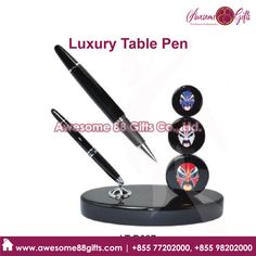 Looking for printing logo on Luxury Metal Pen in Phnom Penh ? Call us Metal Pen, Phnom Penh, Print Logo, Cambodia, Best Gifts, Printing, Luxury, Table, Tables