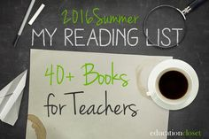 Looking for a great book to dive into this summer? We've compiled a teacher reading list of 40 titles that will leave you inspired and refreshed! Growth Mindset Classroom, English Lesson Plans, Summer Reading Lists, Teacher Hacks, Teacher Stuff, Creative Teaching, Teaching Materials, Reading Comprehension, Elementary Schools