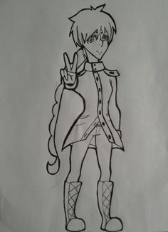 #2 out of 3 for the redraw of meh soul eater oc