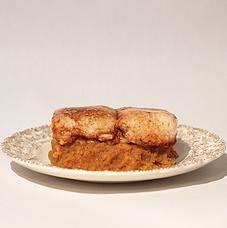 Seasonal Pumpkin Pecan Spice Marshmallow Candied Yams