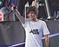 Louis on stage in Denmark! 16 June 2015.