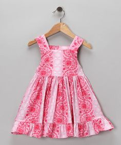Pink Dance Me Ruffle Dress - Infant, Toddler & Girls