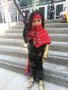 Little Vincent Valentine @ Anime Expo 2014 by drake12483.deviantart.com