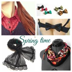 Colorful and handmade accessories...