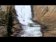 Awesome kayaking video of Rush Sturges dropping off big waterfalls and doing amazing wave moves, set to a mellow techno soundtrack
