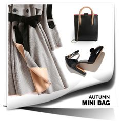 Mini Bag by alevalepra on Polyvore featuring Mode, Christian Louboutin and minibags