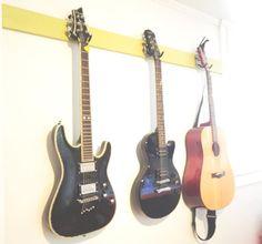 DIY guitar hooks