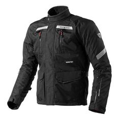 REV'IT Neptune GoreTex Jacket Black