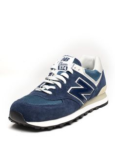 4eaa2d8961cd New Balance M574 Blue ... great comfortable retro casual shoe  comes in many