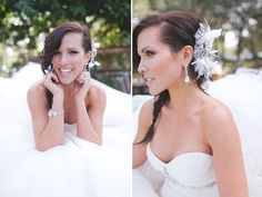 Hair & makeup: Simone Rosas with Makeoverstation.   Photography: Andi Mans  Fashion: Solutions Bridal designer house