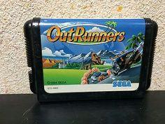 Outrunners Sega Mega Drive Japan NTSC-J