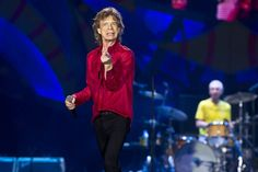 Mick Jagger at stage in Rio de Janeiro - 20.02.2016