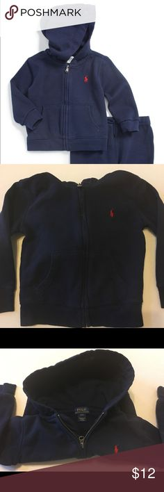 Ralph Lauren Polo French Terry Hoodie Size 4/4t Ralph Lauren Polo French Terry Hoodie Size 4/4t , in excellent condition, no rips , no stains. Polo by Ralph Lauren Jackets & Coats