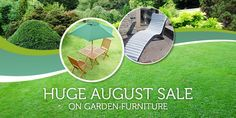 Huge August SALE on garden furniture! Garden Furniture, Outdoor Furniture Sets, Outdoor Decor, Sale On, Make It Yourself, Store, Home Decor, Lawn Furniture, Tent