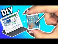 tutorial: miniature iPad Pro with stylus pen and keyboard