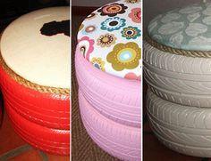 DIY: Tyre Chairs | Women24
