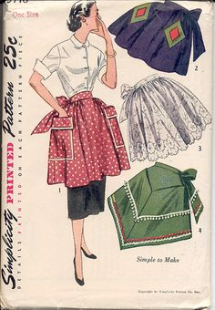 Vintage Aprons....