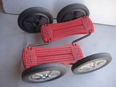 Skat Scoota!!  We played with these at Grandma's House!! I could never do it.