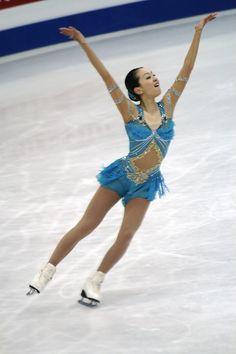 Mao Asada -Blue Figure Skating / Ice Skating dress inspiration for Sk8 Gr8 Designs.